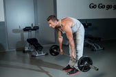 The Deadlift — Stockfoto