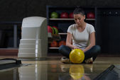 Bowling Problem At The Bowling Alley — Foto Stock