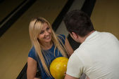 Bowling Lessons — Stock Photo