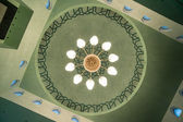 Moskén i sarajevo interiör — Stockfoto