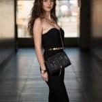 Elegant Lady With Stylish Hairstyle — Stock Photo