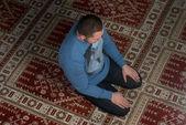 モスクで祈るイスラム教 — ストック写真