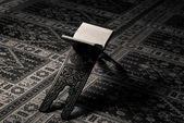 Quran Holy Book Of Muslims In Mosque — Stock Photo