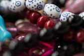 Gros plan sur les perles de prière islamiques — Photo