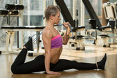 Pilates Exercise — Stock Photo