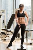Фитнес и потеря веса — Стоковое фото