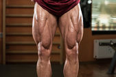 Bodybuilder Legs — Stock Photo