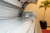 Tanning Bed Solarium At Health Club Spa — Stock Photo