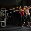 ������, ������: Mature Men Athlete Practicing To Throw A Javelin