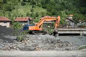 Flood in 2014 - Maglaj - Bosnia And Herzegovina — Stock Photo
