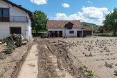 Flood in 2014 - Pridijel - Bosnia And Herzegovina — Stock Photo