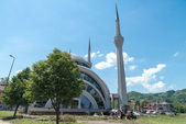 Vali Recep Yaziciodlu Mosque After Flooding Natural Disaster — Stock Photo