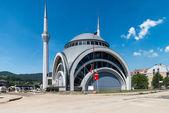 Vali Recep Yaziciodlu Mosque After Flooding Natural Disaster — Stock Photo