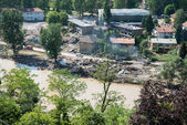 Flood In 2014 Maglaj - Bosnia And Herzegovina — Stock Photo