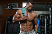 Bodybuilding Is Exercise And Nutrition At Its Best — Stock Photo