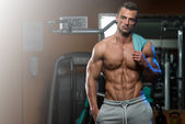 Person First - Bodybuilder Second — Zdjęcie stockowe