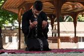 Gebed in de moskee — Stockfoto