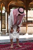 Young Muslim Man Praying — Stock Photo