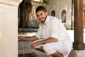 Portrait Of Young Arab Saudi Emirates Man — Stock Photo