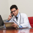 Young Doctor On The Phone — Stock Photo #51316063