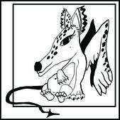 Spotty dinosaur — Stock Vector