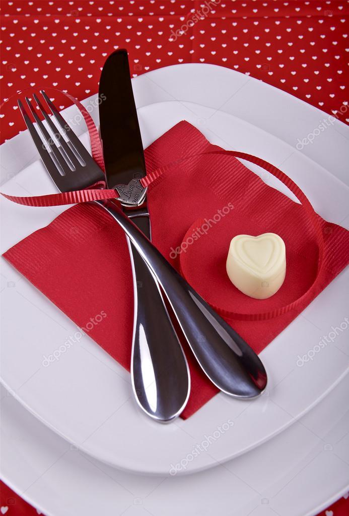 Cen rio de mesa para o jantar de dia dos namorados for Table 52 valentine s day