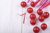 Red candies — Stock Photo