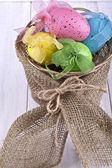 Ovos de Páscoa coloridos — Fotografia Stock