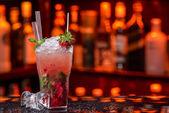 Strawberry Fruit Mojito — Stockfoto