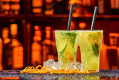 Oranžový koktejl — Stock fotografie