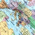 Euro map — Stock Photo