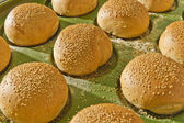 Panecillos para hamburguesas — Foto de Stock