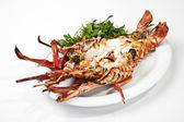 Lobster grill — Stock Photo