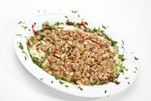 Turkish food Kokorec — Stockfoto