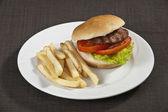 Sirloin Steak Burger — Stockfoto
