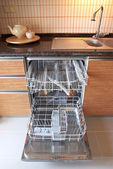 Myčka na nádobí — Stock fotografie