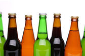 Five different bottlenecks — Stock Photo