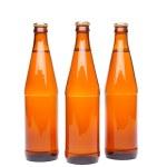 bouteille de bière brune trois — Photo