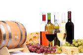 şarap kompozisyon — Stok fotoğraf