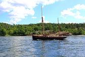 Zwei-mast-segelschiff — Stockfoto