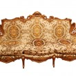 Luxury Interior. Carved Furniture. — Stock Photo