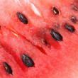 Detailed closeup of watermelon. — Stock Photo
