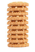 Stack of biscuits. — Stock Photo