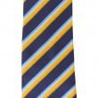 Stripy necktie — Stock Photo