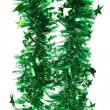 Tinsel. Christmas decoration. — Foto Stock