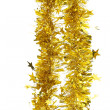 Foto Stock: Tinsel. Christmas decoration.