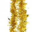 Photo: Tinsel. Christmas decoration.