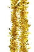 Klatergoud. decoratie van kerstmis. — Stockfoto