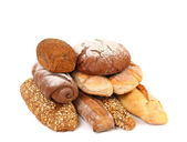 Composition various kinds of bread. — Stock Photo