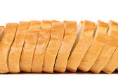 Close up of sliced long loaf. — Stock Photo